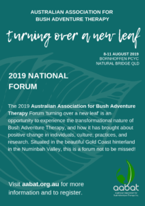 Turning Over A New Leaf – AABAT National Forum 2019